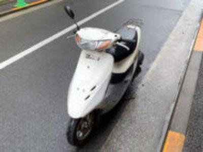 品川区豊町1丁目で原付バイクのホンダ ライブDio Jを無料引き取り処分と廃車