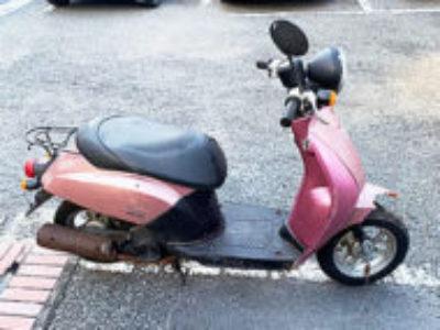 世田谷区上馬5丁目で原付バイクのホンダ トゥデイを無料引き取りと処分
