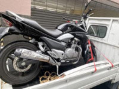 府中市府中町2丁目で250ccバイクのスズキ GSR250を無料引き取り処分