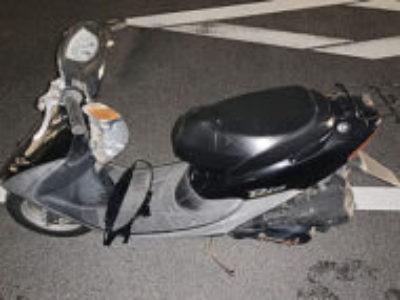 川口市東領家3丁目で原付バイクのホンダ ライブDio Jを無料引き取り処分と廃車