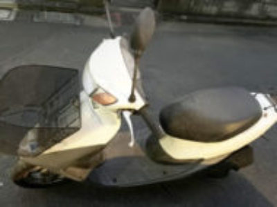 板橋区栄町で原付バイクのホンダ ライブDio Jを無料引き取りと処分