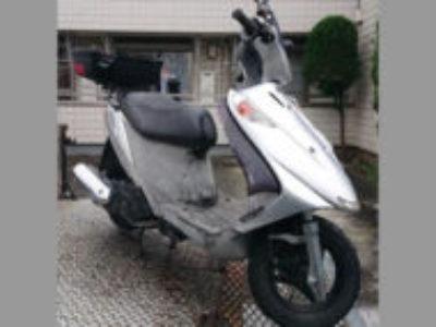 杉並区高井戸西1丁目で原付バイクのスズキ アドレスV125Gを無料で引き取り処分