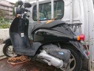 佐倉市西志津4丁目で原付バイクのホンダ トウデイ FIを無料で引き取り処分と廃車