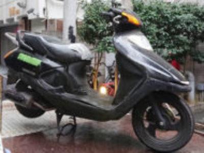 新宿区歌舞伎町2丁目で原付バイクのホンダ スペイシー100を無料で引き取り処分と廃車