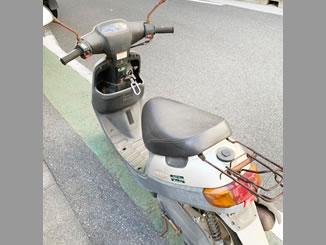 文京区湯で無料で廃車と処分をしたヤマハ JOG アプリオ