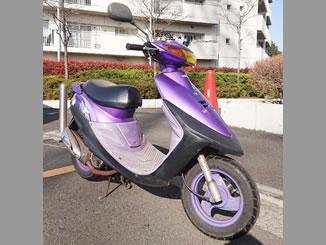 横浜市瀬谷区上瀬谷町で無料で廃車と処分をしたヤマハ スーパー JOG Z