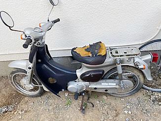 つくば市柴崎で無料で廃車と処分をしたのホンダ リトルカブ