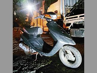 文京区千石で無料で処分と廃車をしたヤマハ JOG2(3YJ5)