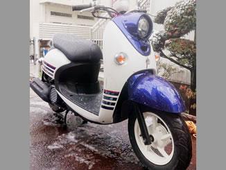大田区久が原2丁目で無料で廃車と処分をしたヤマハ ビーノ FI DX