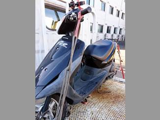 さいたま市南区沼影1丁目で無料で廃車と処分をしたホンダ スマートDio
