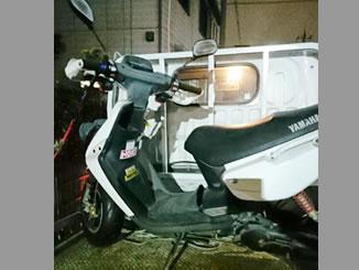 川口市朝日2丁目で無料で引き取り処分と廃車をしたヤマハ BW'S