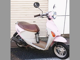 練馬区大泉学園町で無料で引き取り処分と廃車をした原付バイクのレッツ4パレット