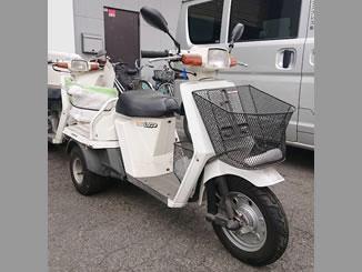 町田市南町田3丁目で無料で引き取り処分と廃車をした原付バイクのジャイロアップ