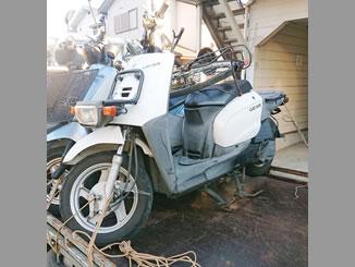 厚木市関口で無料で引き取り処分と廃車をした原付バイクのヤマハ ギア FI
