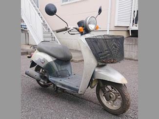 稲城市矢野口で無料で引き取り処分と廃車をした原付バイクのホンダ トゥデイ