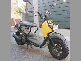 目黒区柿の木坂1丁目で無料で引き取り処分と廃車をした原付バイクのホンダ ズーマー FI