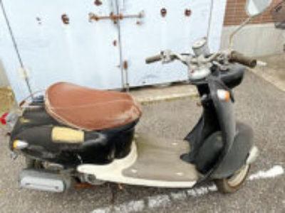 柏市豊四季で原付バイクのヤマハ ビーノを無料で引き取り処分