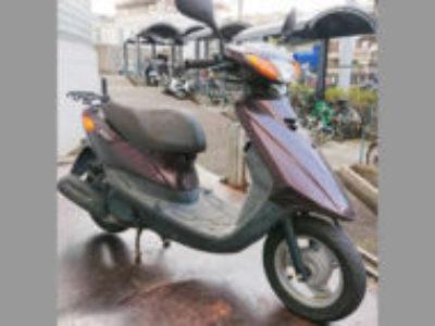 横浜市南区中里1丁目で原付バイクのヤマハ JOG FIを無料引き取りと処分
