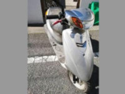 杉並区善福寺4丁目で原付バイクのヤマハ JOG FIを無料引き取りと処分