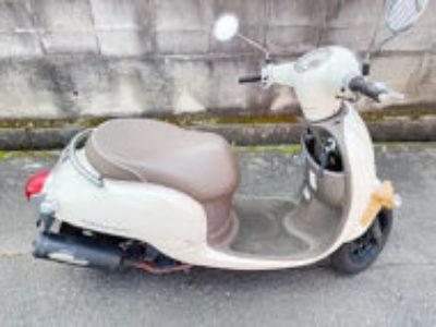 つくば市天久保3丁目で原付バイクのホンダ ジョルノ FIを無料引き取り処分