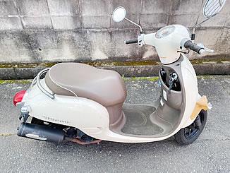 つくば市天久保3丁目で無料で引き取り処分と廃車をした原付バイクのホンダ ジョルノ FI