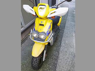 横浜市金沢区谷津町で無料で引き取り処分と廃車をした原付バイクのヤマハ BW'S100