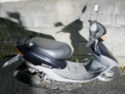 船橋市大穴南2丁目で原付バイクのホンダ ライブDio Jを無料引き取りと処分