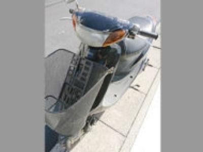 八潮市八條で原付バイクのヤマハ JOG Cを無料で引き取りと処分