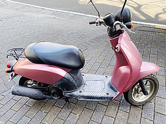 横浜市緑区十日市場町で無料で引き取り処分をした原付バイクのホンダ トゥデイ