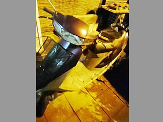 桶川市坂田で無料で引き取り処分と廃車をした原付バイクのホンダ スーパーDio