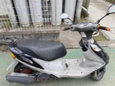 秦野市堀川で原付バイクのスズキ アドレスV125Gを無料引き取り処分と廃車