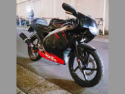 千葉市稲毛区稲毛東4丁目で原付バイクのアプリリア RS50を無料引き取り処分
