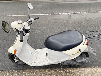横浜市戸塚区品濃町で無料で引き取り処分をした原付バイクのレッツ4 パレット