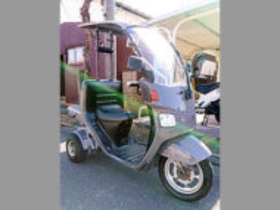 北本市本宿3丁目で原付バイクのジャイロキャノピーを無料で引き取りと処分