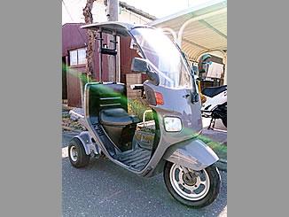 藤沢市川名1丁目で無料で引き取り処分と廃車をした原付バイクのジャイロキャノピー