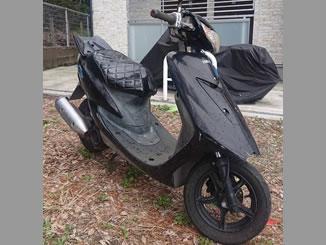 藤沢市本町3丁目で無料で引き取り処分をした原付バイクのヤマハ JOG ZR
