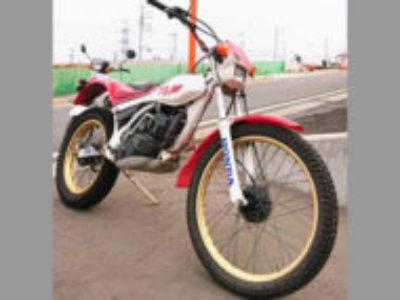 稲城市百村で200ccバイクのホンダ TLM200Rを無料引き取り処分と廃車