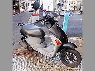 横浜市保土ケ谷区西谷町で無料で引き取り処分と廃車をした原付バイクのスズキ レッツ4G