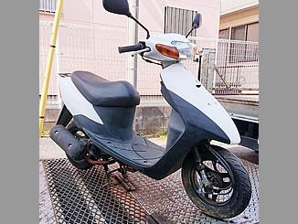 千葉市稲毛区園生町で無料で引き取り処分と廃車をした原付バイクのスズキ レッツ2