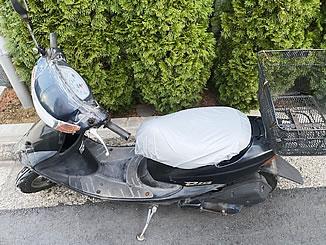 世田谷区上祖師谷で無料で引き取り処分と廃車をした原付バイクのホンダ ライブDio J