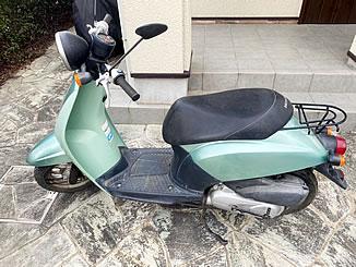 筑西市で無料で引き取り処分と廃車をした原付バイクのホンダ トゥデイ