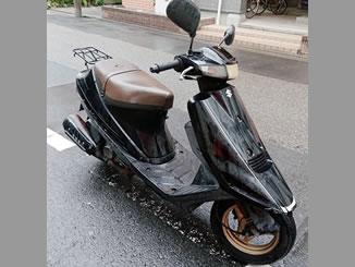 足立区千住河原町で無料で引き取り処分と廃車をした原付バイクのアドレスV100