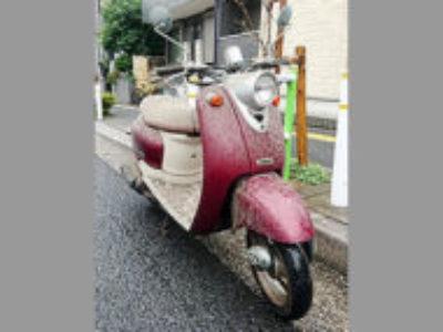 板橋区蓮根3丁目で原付バイクのヤマハ ビーノを無料で引き取りと処分