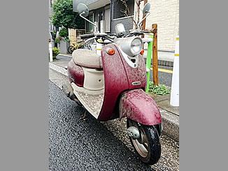 板橋区蓮根3丁目で無料で引き取りと処分をした原付バイクのヤマハ ビーノ