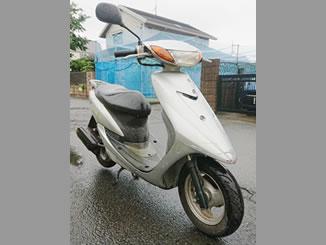 川崎市多摩区菅北浦2丁目で無料で引き取り処分と廃車をした原付バイクのヤマハ リモコンJOG