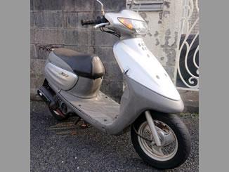 町田市小川で無料で引き取り処分と廃車をした原付バイクのヤマハ JOG