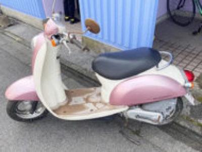 宇都宮市材木町で原付バイクのクレアスクーピーを無料で引き取り処分