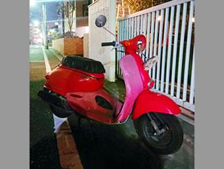 江戸川区中葛西で無料で引き取り処分をした原付バイクのホンダ ジョルカブ