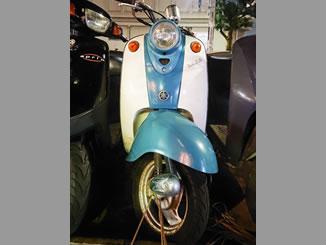 練馬区春日町で無料で引き取り処分と廃車をした原付バイクのヤマハ ビーノ クラシック