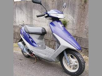 八王子市七国で無料で引き取り処分と廃車手続き代行をした原付バイクのホンダ スーパーDio